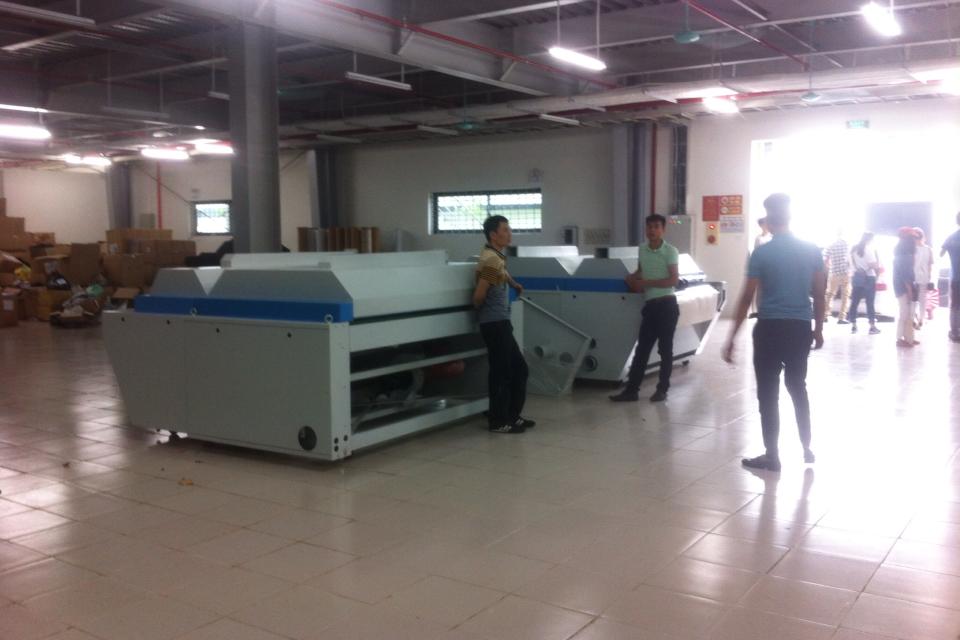 Máy xử lý co vải
